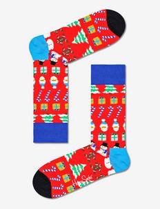 All I Want For Christmas Sock - skarpety crew - medium red