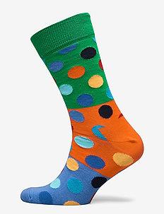 Big Dot Block Sock - MULTI