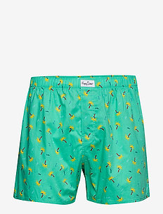 Confetti Palm Boxer - MINT GREEN