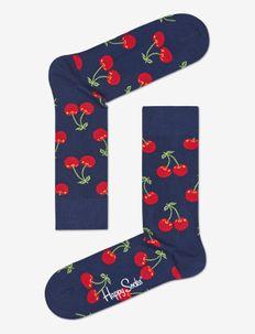 Cherry Sock - BLUE