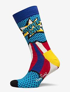 Super Dad Sock - MEDIUM BLUE