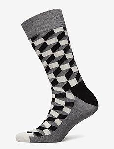 Filled Optic Sock - skarpety - black