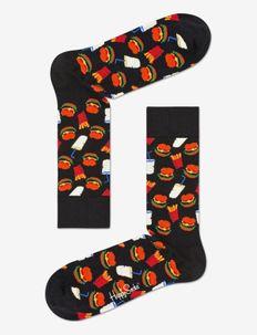 Hamburger Sock - BLACK