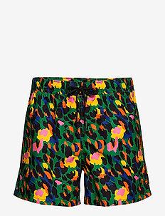 Leopard Swim Shorts - szorty kąpielowe - green