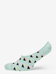 Mini Diamond Liner Sock - skarpety za kostkę - blue