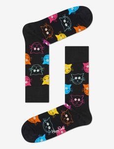 Cat Sock - chaussettes régulières - black