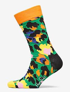 Leopard Sock - GREEN
