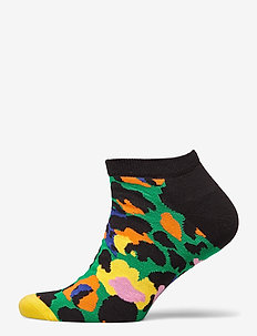 Leopard Low Sock - ankelstrumpor - green