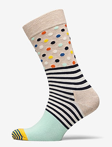 Stripes And Dots Sock - vanlige sokker - multi