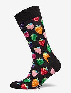 Strawberry Sock - vanlige sokker - black