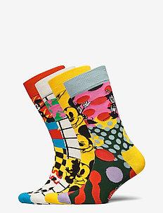 4-Pack Disney Gift Set - tavalliset sukat - multi