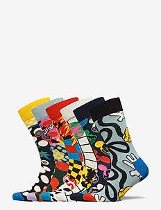 6-Pack Disney Gift Set - normale sokken - multi