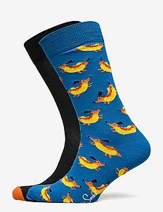 2-Pack Hot Dog Socks Gift Set - reguläre strümpfe - multi