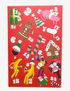 24-Pack 24 Days Of Holiday Socks Gift Set - skarpety crew - multi