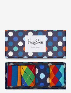 4-Pack Multi-color Socks Gift Set - BLUE