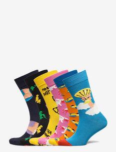 6-Pack Monty Python Gift Set - crew sokken - multi