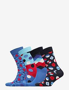 Navy Gift Box - tavalliset sukat - blue