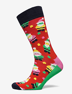 1-Pack Santa Socks Gift Set - reguläre strümpfe - multi