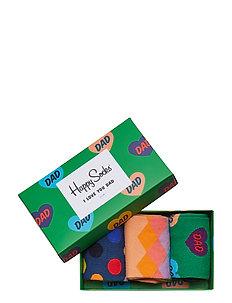 Father's Day Gift Box - regular socks - green
