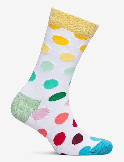 Happy Socks Big Dot Sock- Strumpfwaren White