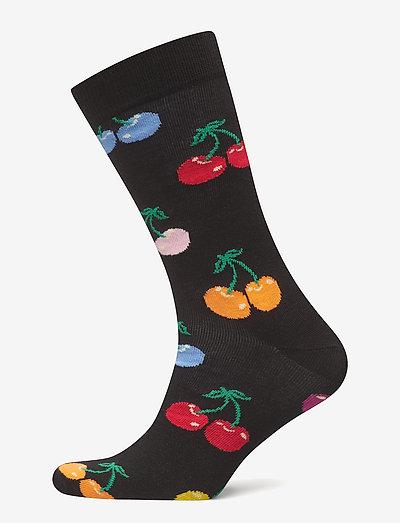 Cherry Sock - skarpety crew - black