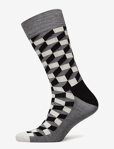 Filled Optic Sock - skarpety crew - black