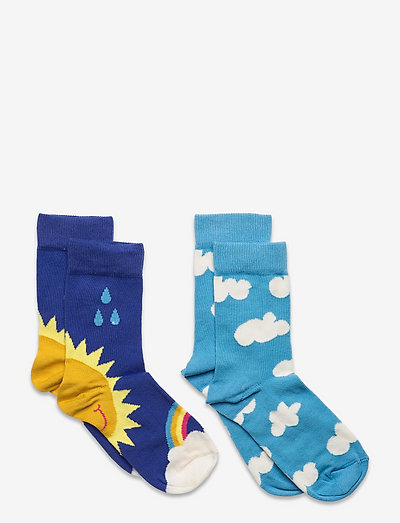2-pack Kids After Rain Socks - skarpetki - blue