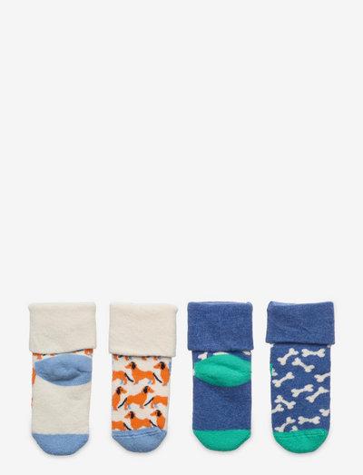 2-Pack Kids Dog Terry Socks - skarpetki - medium blue