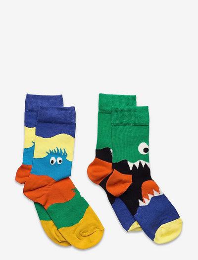 2-pack Kids Monsters Socks - skarpetki - multi