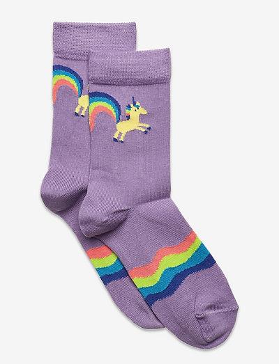 Kids Rainbow Tail Sock - skarpetki - purple