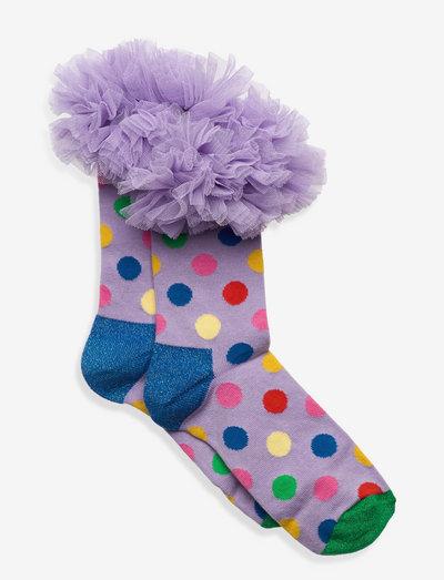 Kids Tulle Sock - skarpetki - white