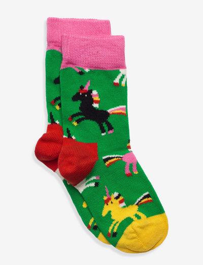 Kids Unicorn Sock - skarpetki - light green