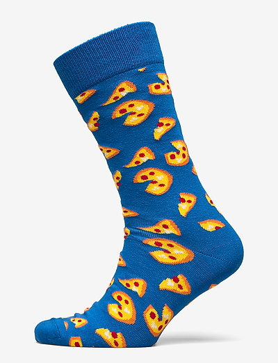 Pizza Sock - skarpety crew - medium blue
