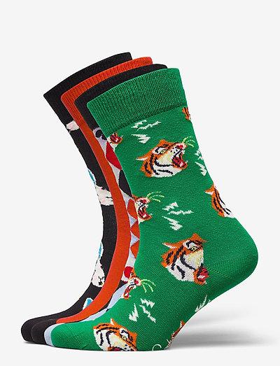 4-Pack Circus Socks Gift Set - skarpety crew - multi