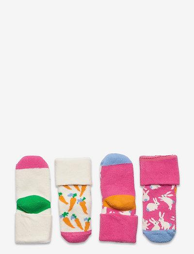 Kids Bunny Sock Gift Set - skarpetki - light pink