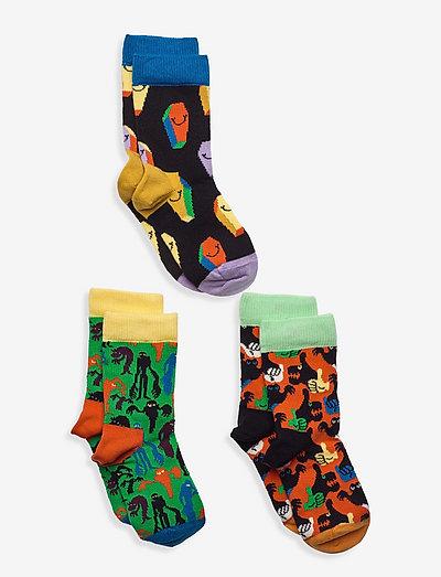 Kids Halloween Socks Gift Set - skarpetki - black/multi