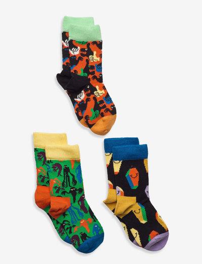 Kids Halloween Socks Gift Set - skarpetki - white