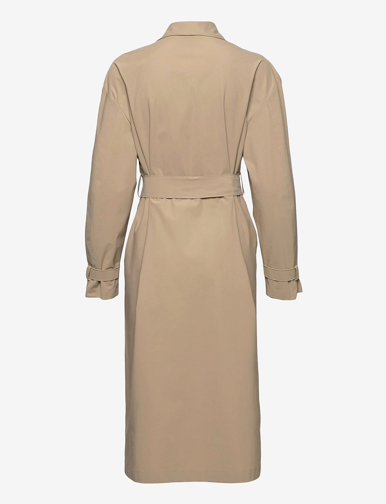 Harris Wharf London - Women Oversized Trench Coat Light Technic - mäntel - camel - 1