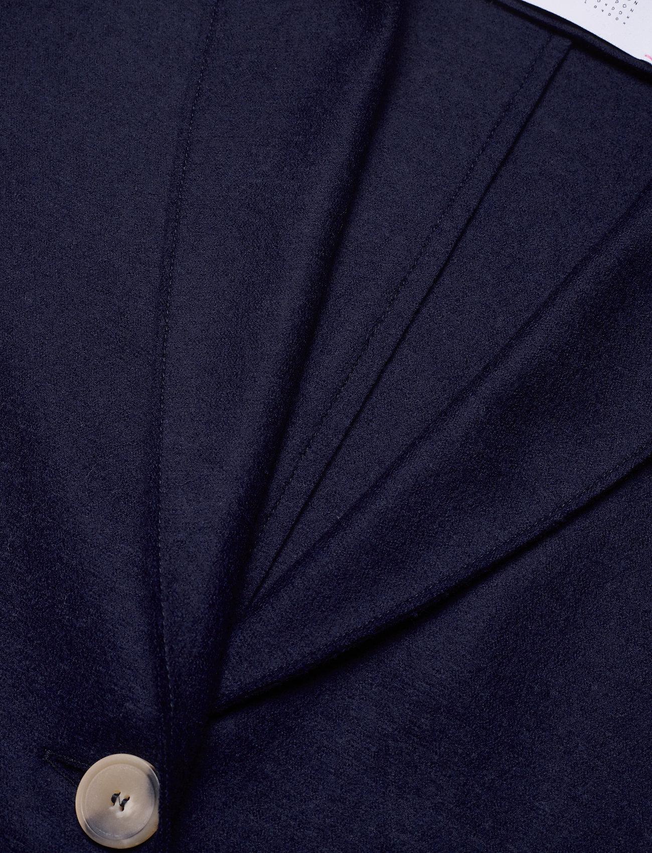 Harris Wharf London - Women Overcoat Light Pressed Wool - wollmäntel - navy blue - 2