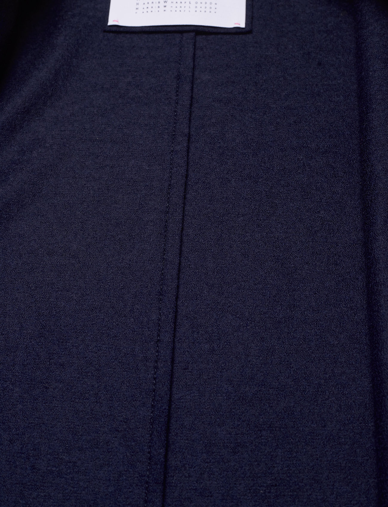 Harris Wharf London - Women Overcoat Light Pressed Wool - wollmäntel - navy blue - 4