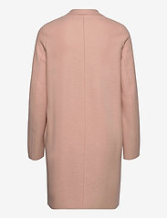 Harris Wharf London - Women Cocoon Coat Light Pressed Wool - wollmäntel - powder rose - 1