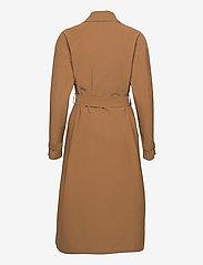 Harris Wharf London - Women Oversized Trench Coat Light Technic - mäntel - tobacco - 1