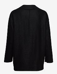 Harris Wharf London - Women Dropped Shoulder D. B. Jacket Light Pressed Wool - jacken - black - 1