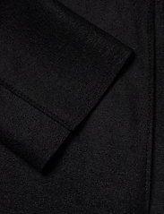 Harris Wharf London - Women Cocoon Coat Light Pressed Wool - wollmäntel - black - 3
