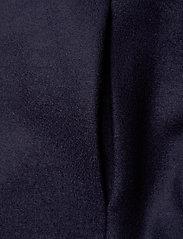 Harris Wharf London - Women Kimono Coat With Vents Light Pressed Wool - wollmäntel - navy blue - 3