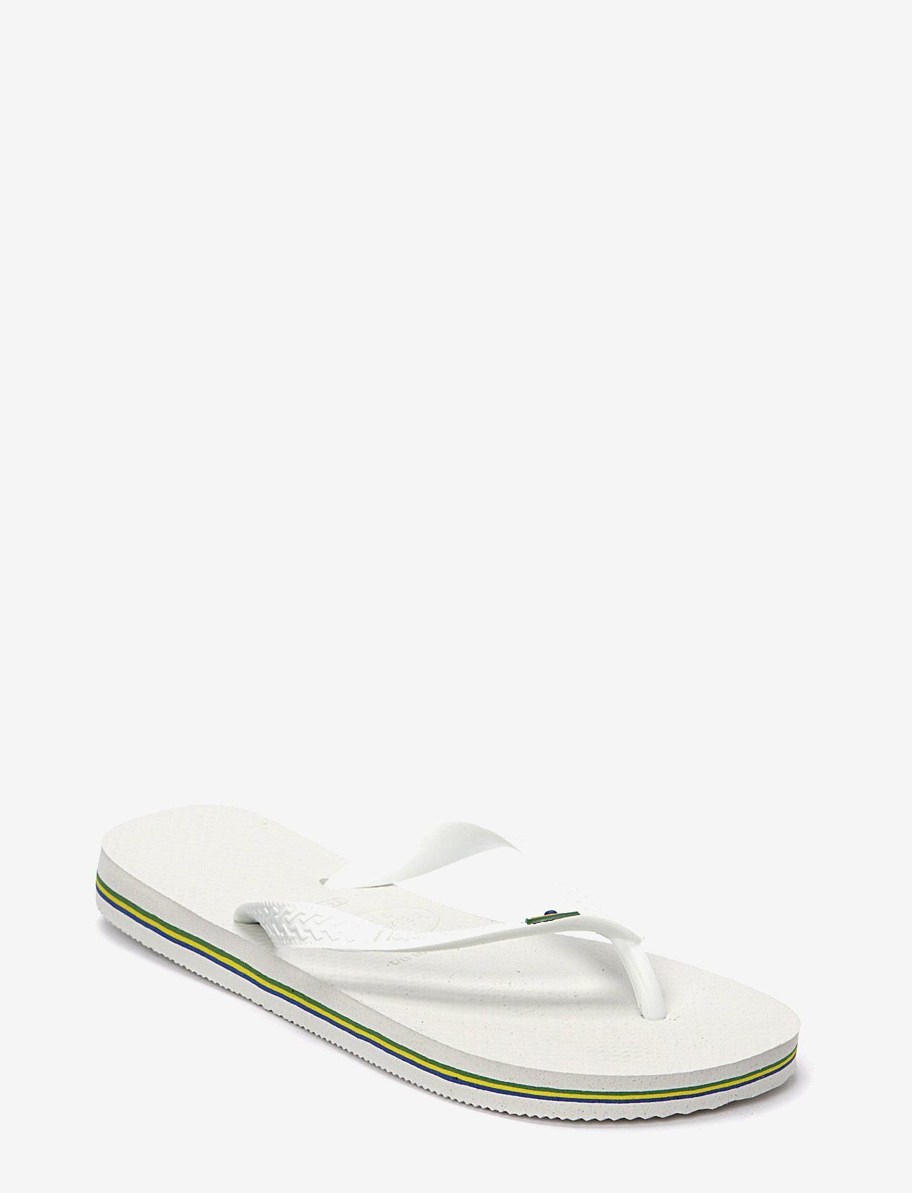 Havaianas - Brasil - teen slippers - white - 0