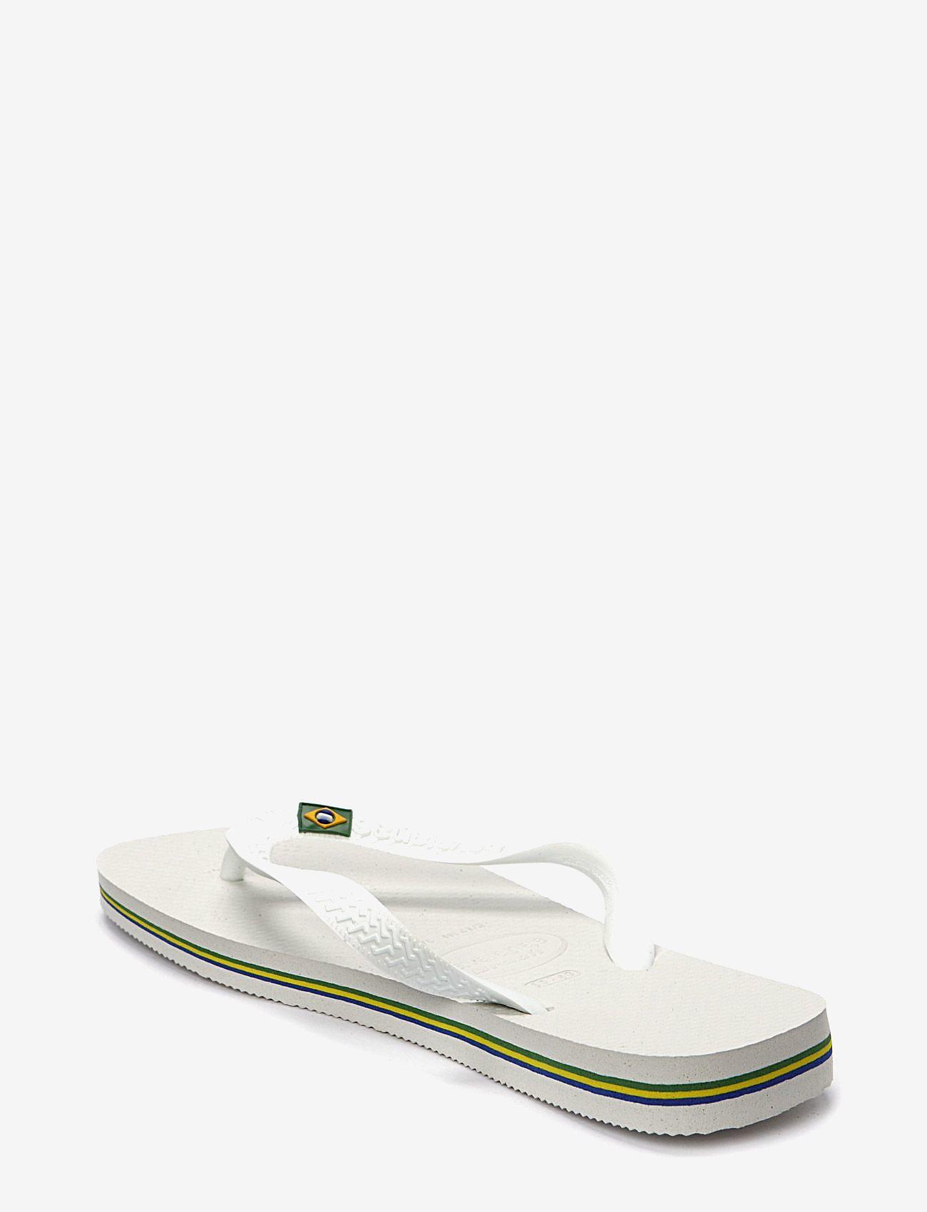 Havaianas - Brasil - teen slippers - white - 1