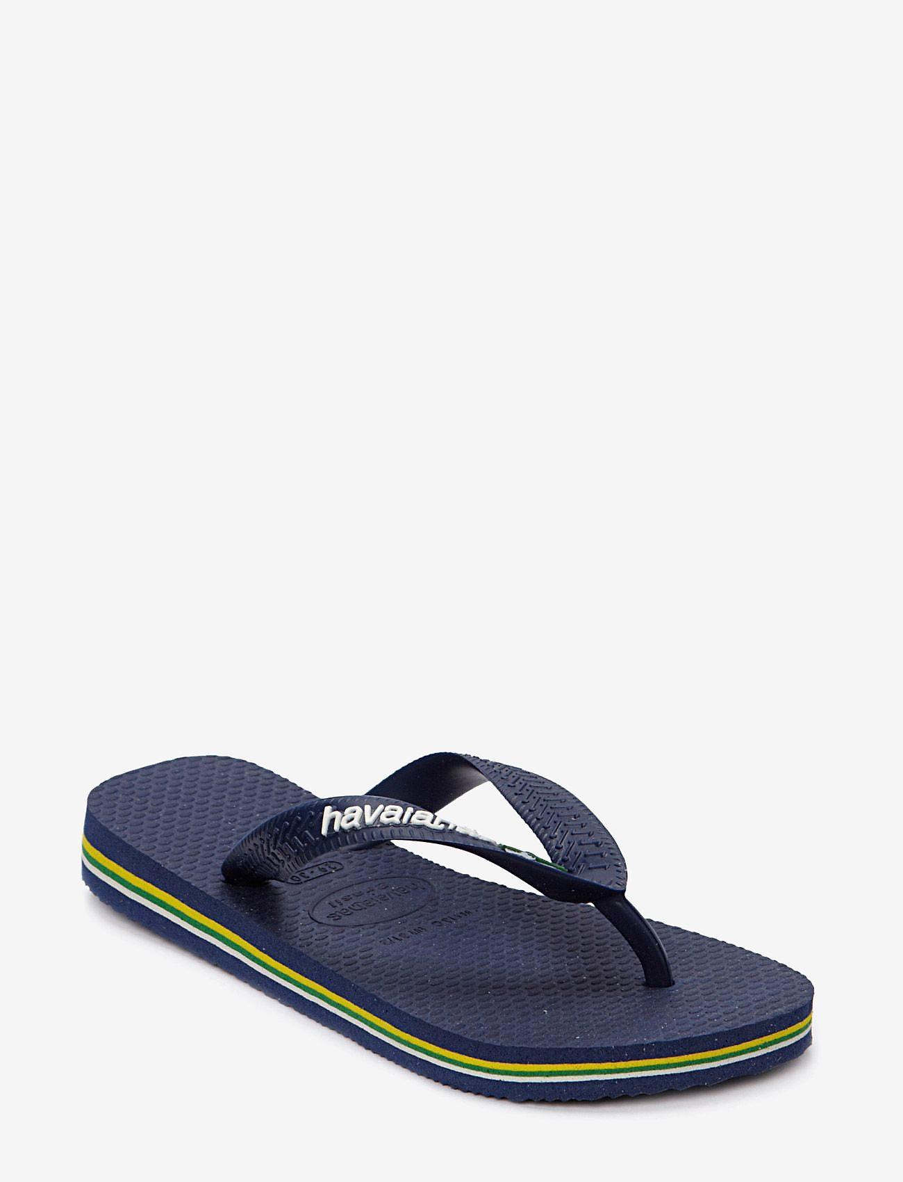 Havaianas - BRASIL LOGO FLIP FLOP - flip flops & watershoes - blue - 0