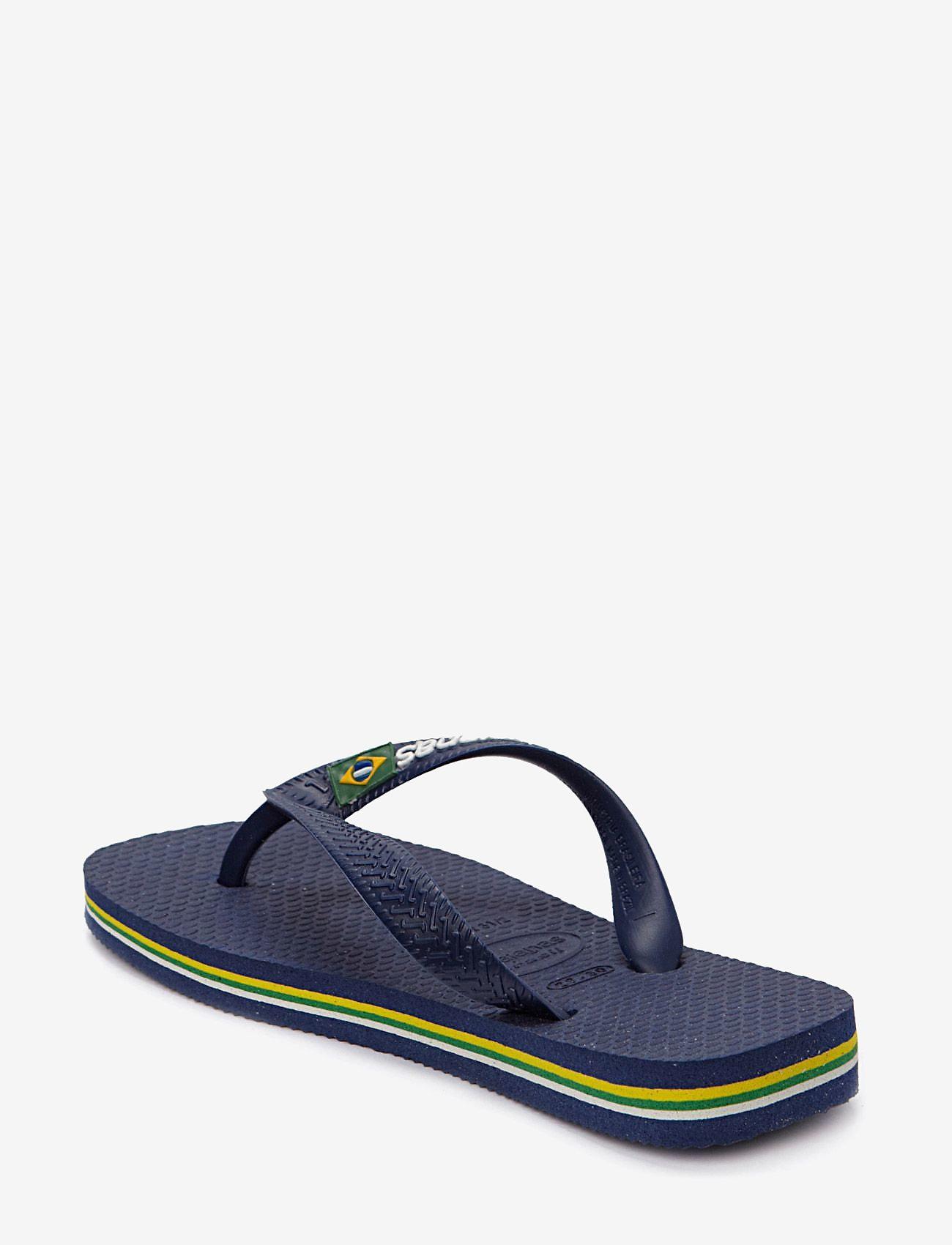 Havaianas - BRASIL LOGO FLIP FLOP - flip flops & watershoes - blue - 1