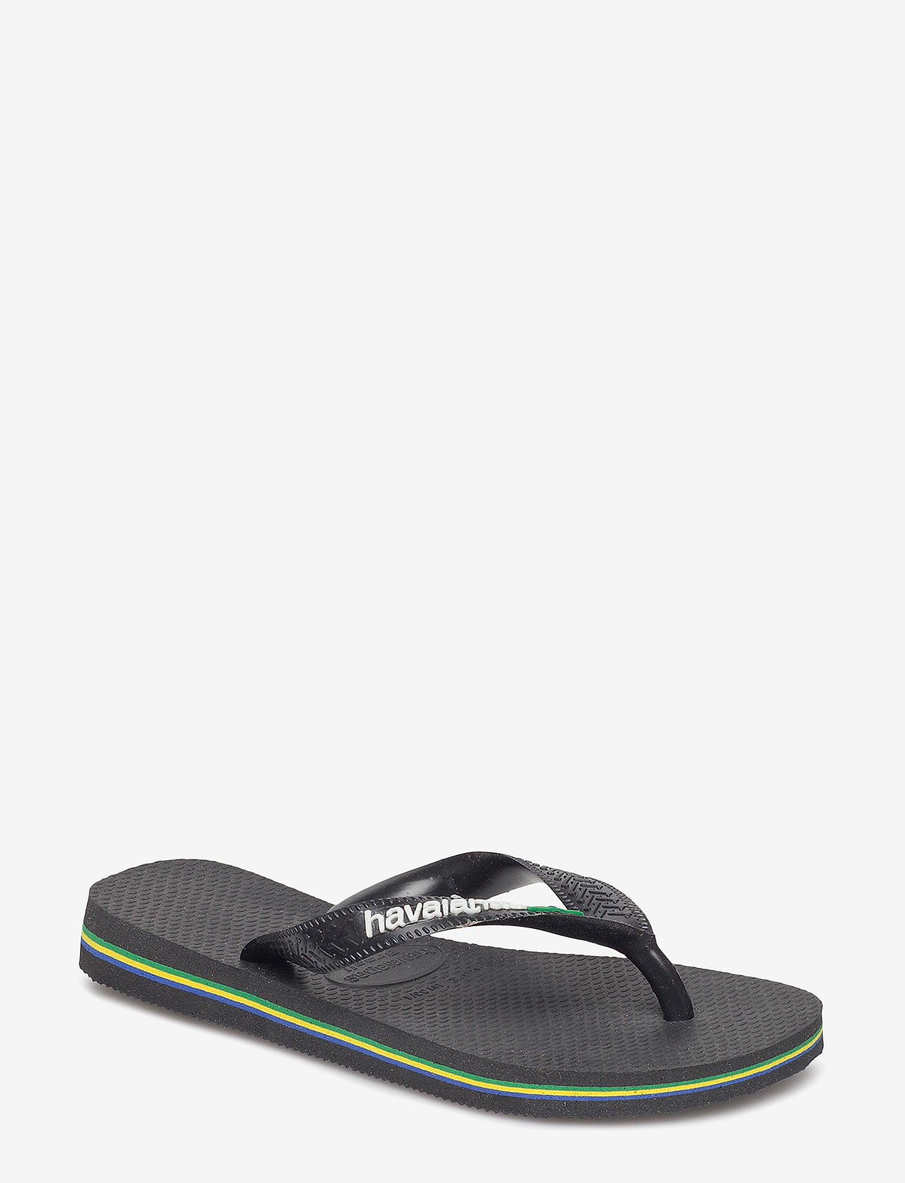 Havaianas - Hav Kids Brazil Logo - slipper - black/black 1069 - 0